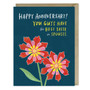 Taste in Spouses Anniversary Card