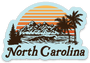 North Carolina Sticker