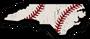 NC Baseball Sticker