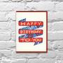 Birthday Banner Birthday Card