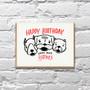 Bitches Birthday Card