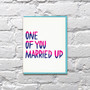 Married Up Card