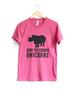 Save the Chubby Unicorns Raspberry Tee