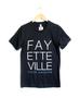 Fayetteville Black Tee