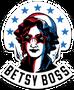 Betsy Boss Sticker
