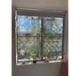 "Holographic Window Film - Radial Axicon - 12"" X 17"" Panel"