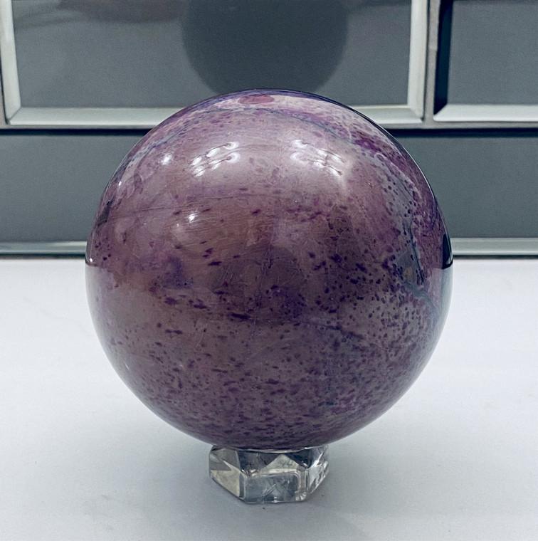 Raven's Huge Sugilite Sphere