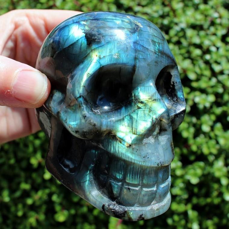 "3.25"" Labradorite Crystal Skull by Soul2Shine"
