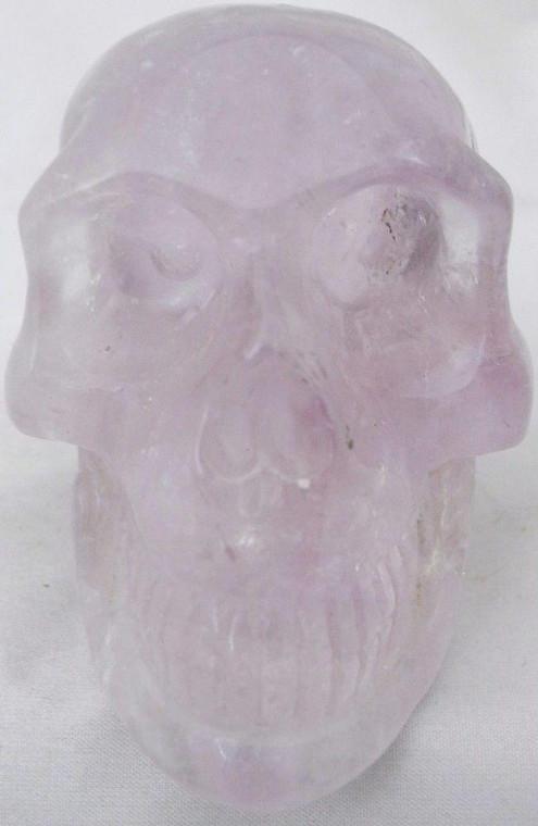 Raven's Classic Style Amethyst Crystal Skull