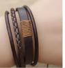 MOCHA  Green, White & Purple  Infinity Bracelet