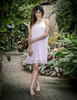 White Rose Sheer Dress