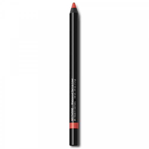 Sharpenable gel lip liner  Waterproof & smudge-proof Soft, smooth formula
