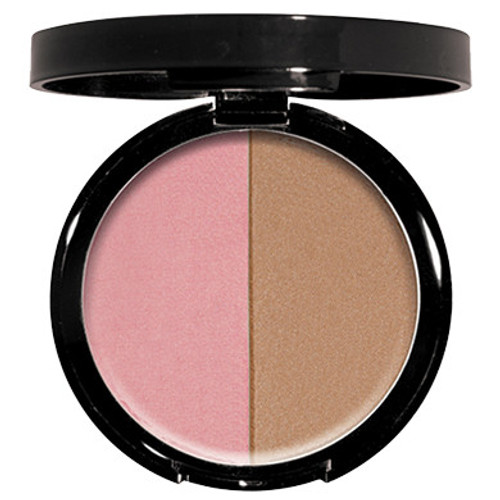 Blush/bronzer duo Sheer, satin finish Sculpts & contours face