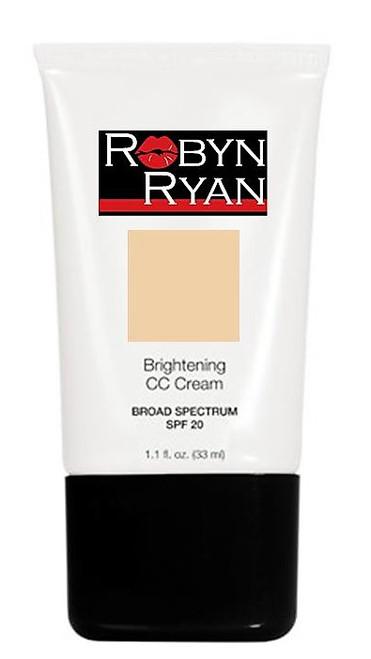 SPF 20  Brightening face cream Natural finish Skin tone correcting