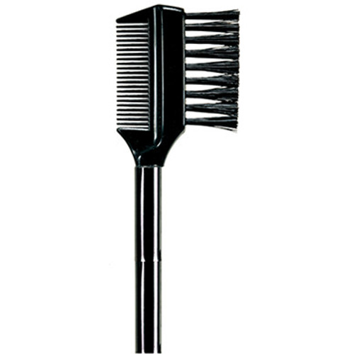 Brow / Lash Grooming Brush This handy, dual-sided brush offers two tools in one.  Material - Boar Bristle