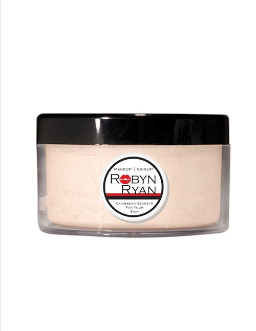 Loose face powder  Natural matte finish Sets makeup in place