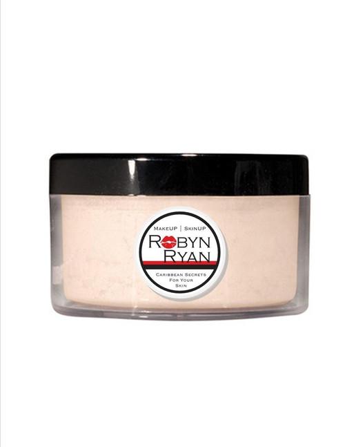 Loose face powder  Natural matte finish Sets makeup in place