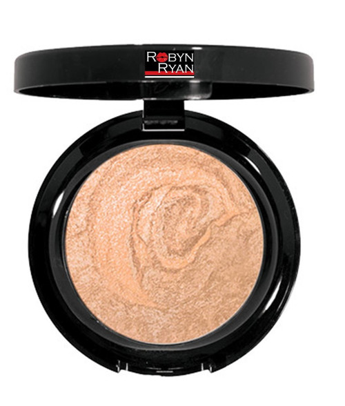 Baked face powder Subtle radiant finish Tames shine