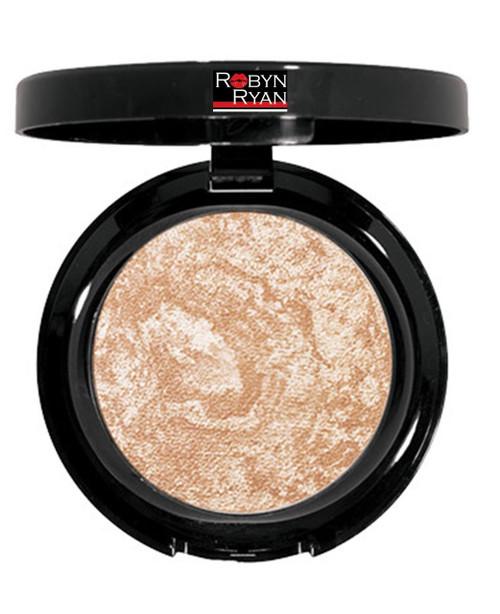Baked face powder Subtle radiant finish Tames shine