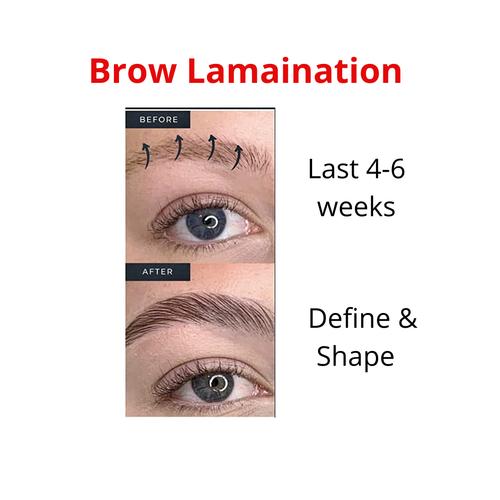 Eyebrow Lamination  Create Shape, Volume and Fullness