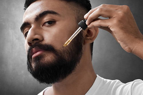 Conditions and keeps stubble and beards healthy