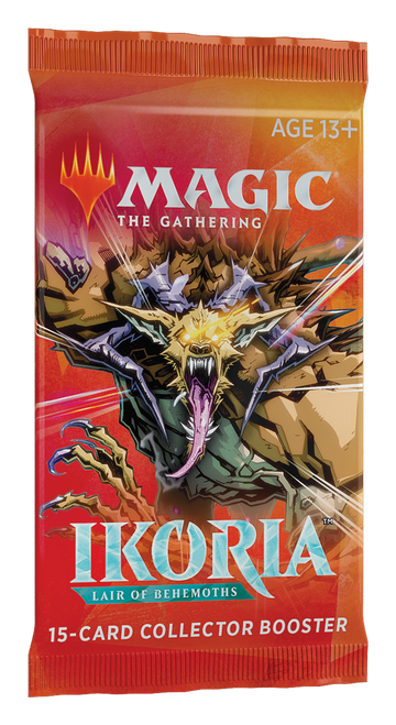 MtG: Ikoria: Lair of Behemoths: Collector Booster Pack (WOCC7423)