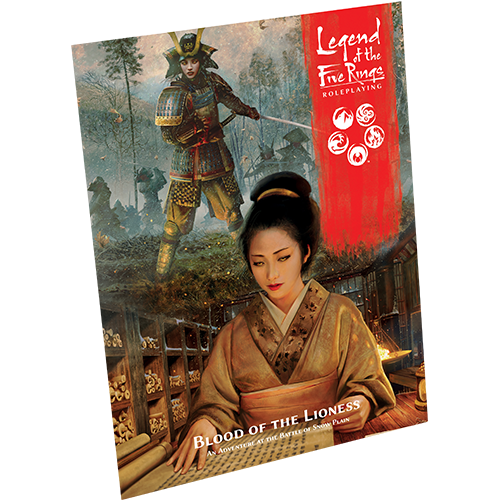 RPG: Legend of the Five Rings (L5R): Blood of the Lioness (L5R15)