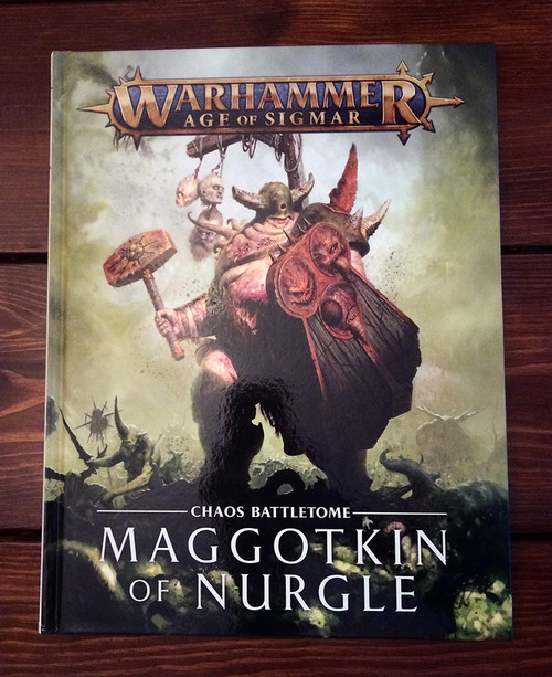 Age of Sigmar: Battletome: Maggotkin of Nurgle (83-58-60)
