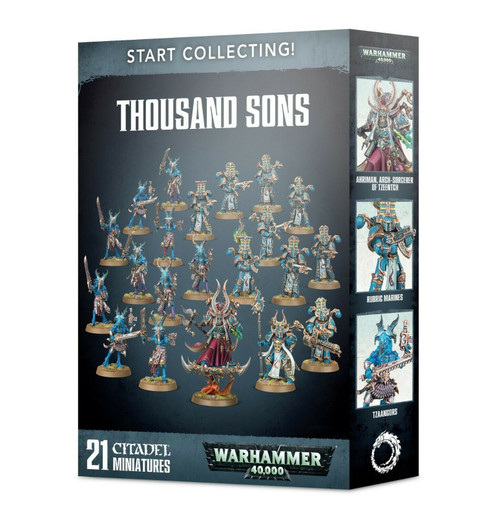 Warhammer 40K: Start Collecting! Thousand Sons (70-55)
