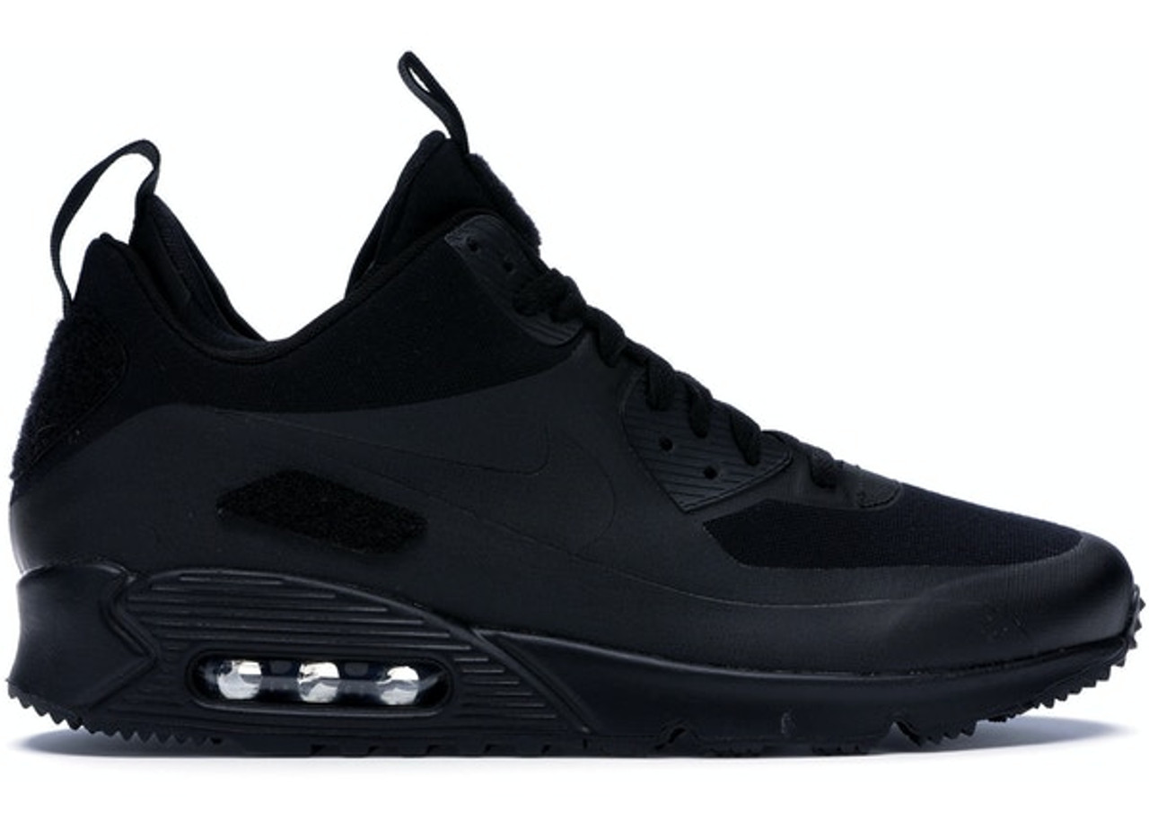 Air Max 90 Sneakerboot Black Patches