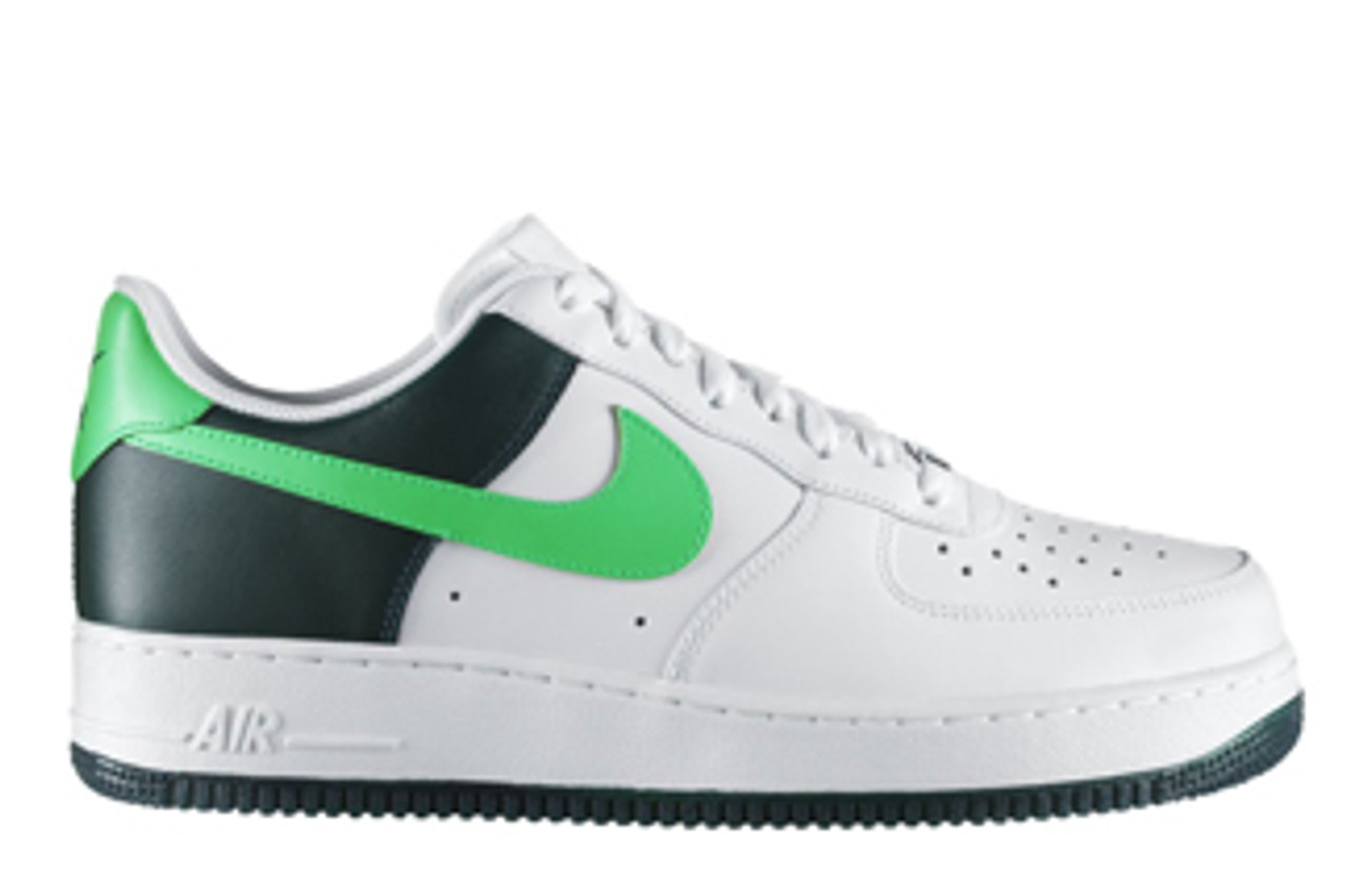 air force white and green