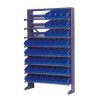 Single Sided Tote Bin Rack