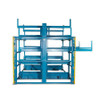 Crank-Out Cantilever Racking Front View