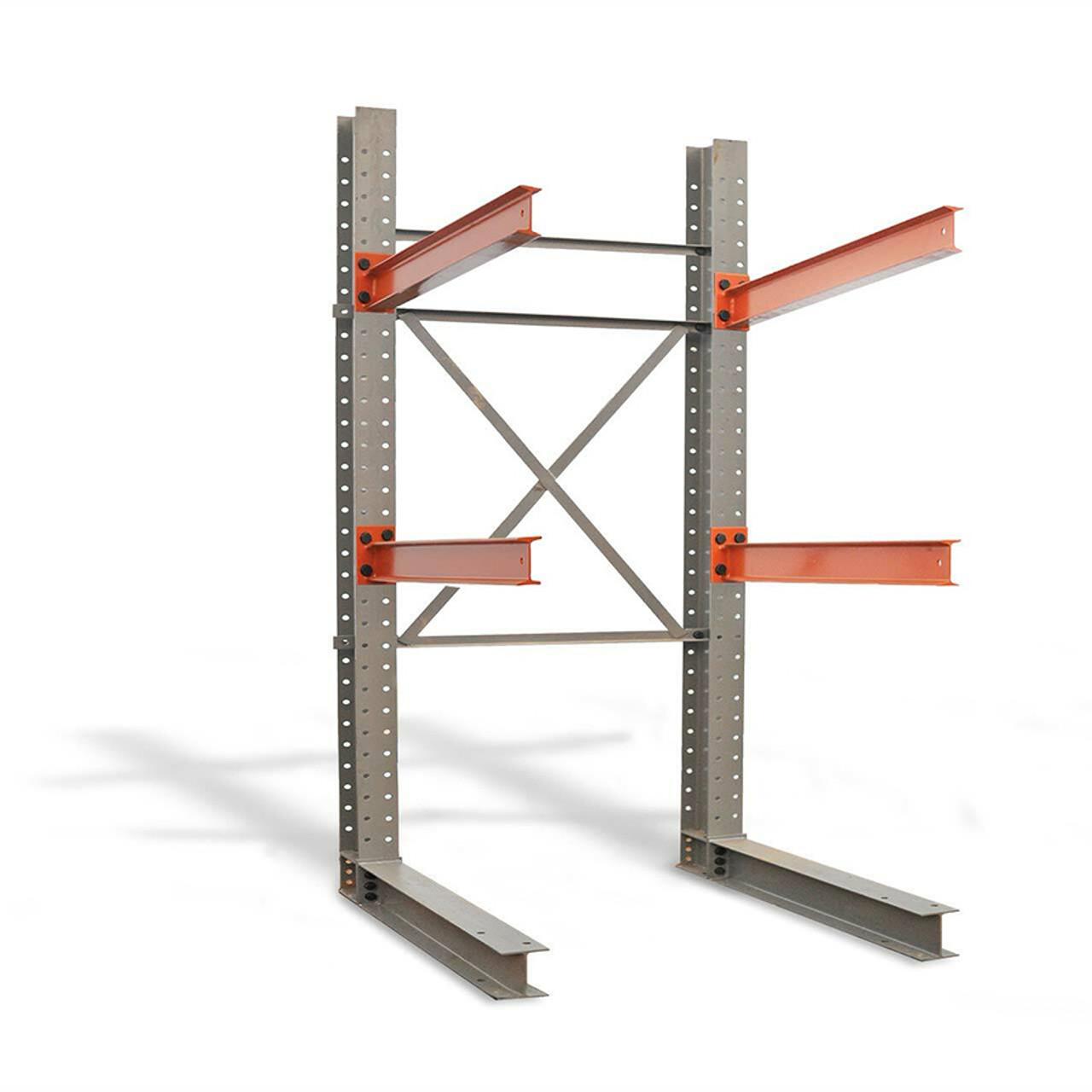 Single sided cantilever rack kit