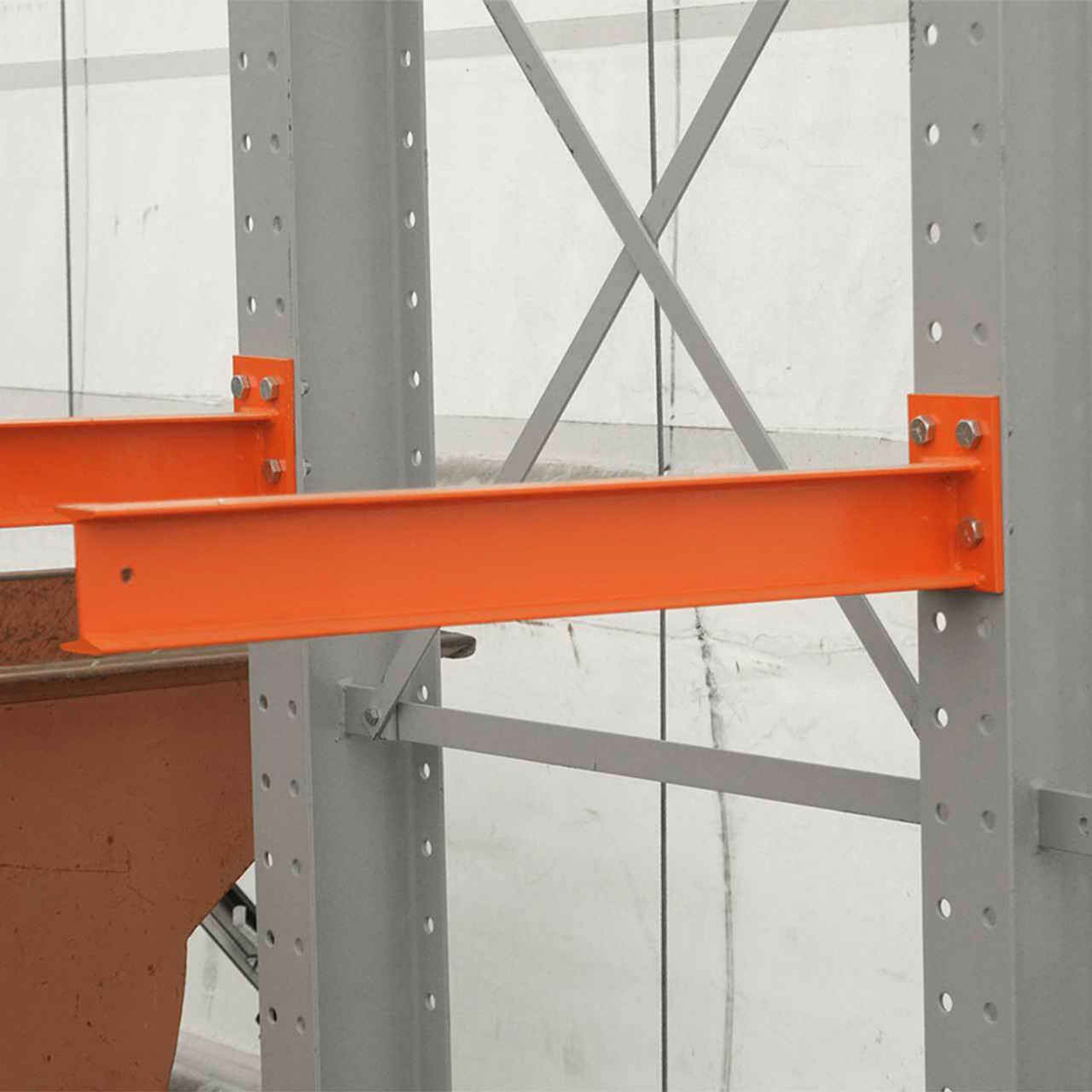 Cantilever rack arm -Side view