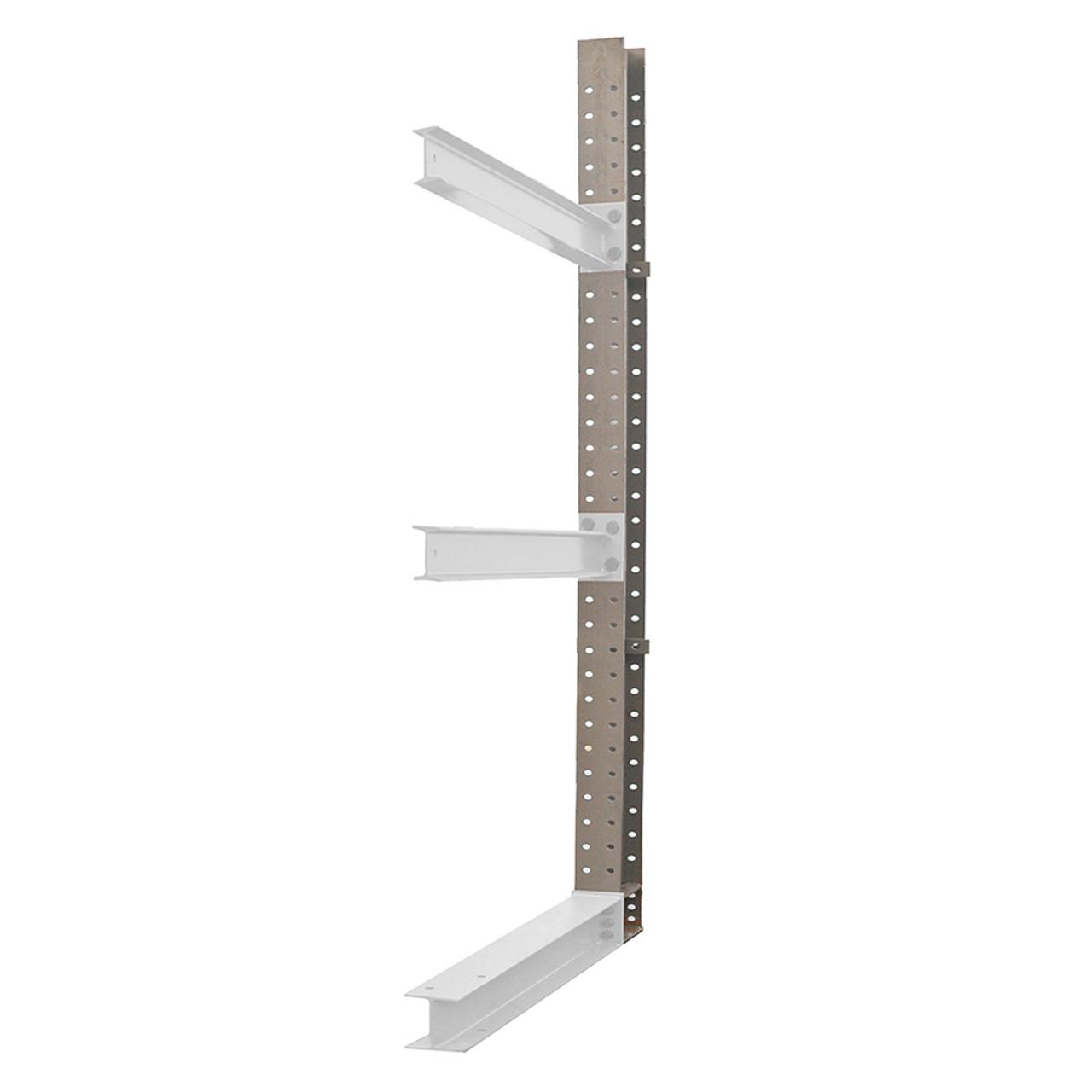 Cantilever racking upright column