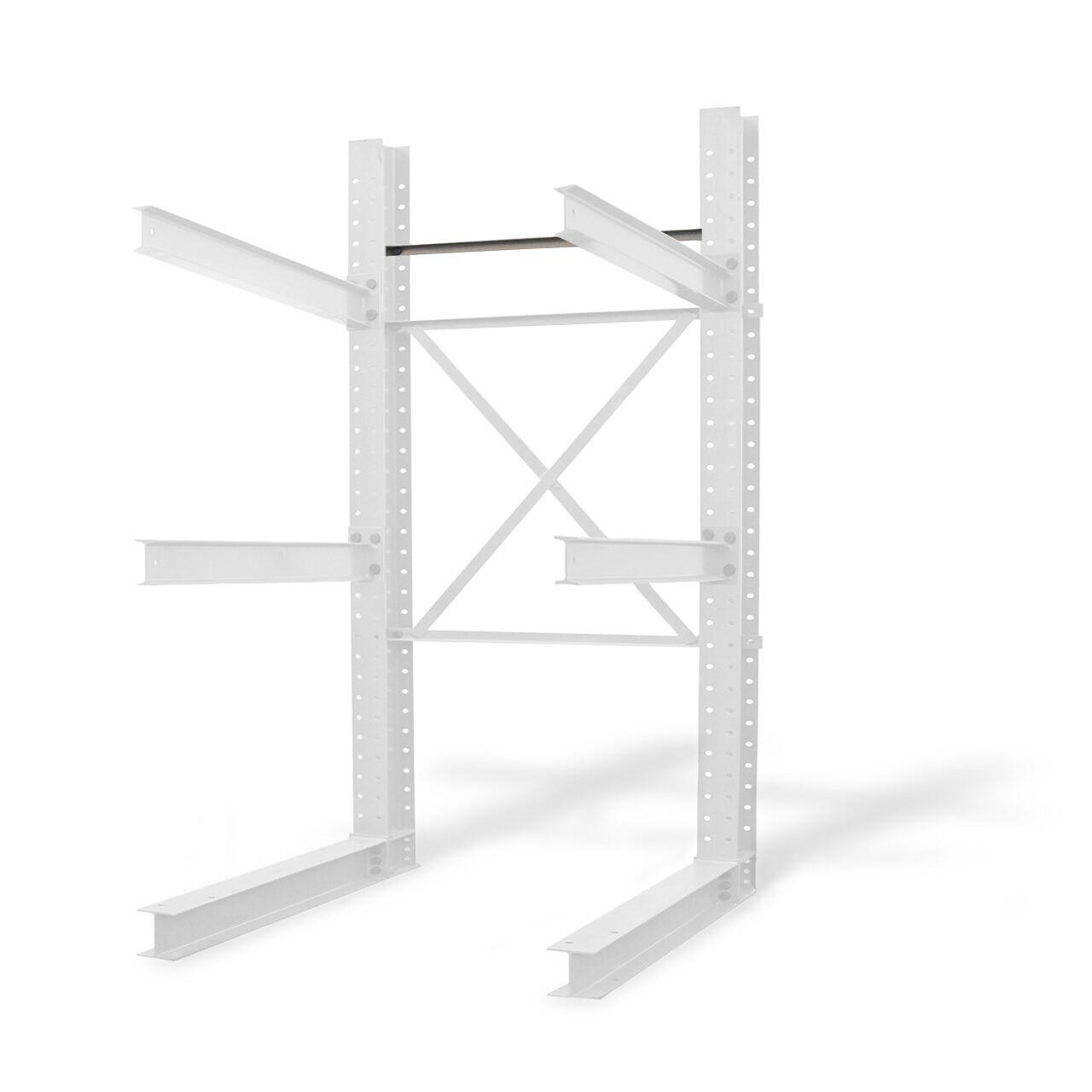 Cantilever racking horizontal brace