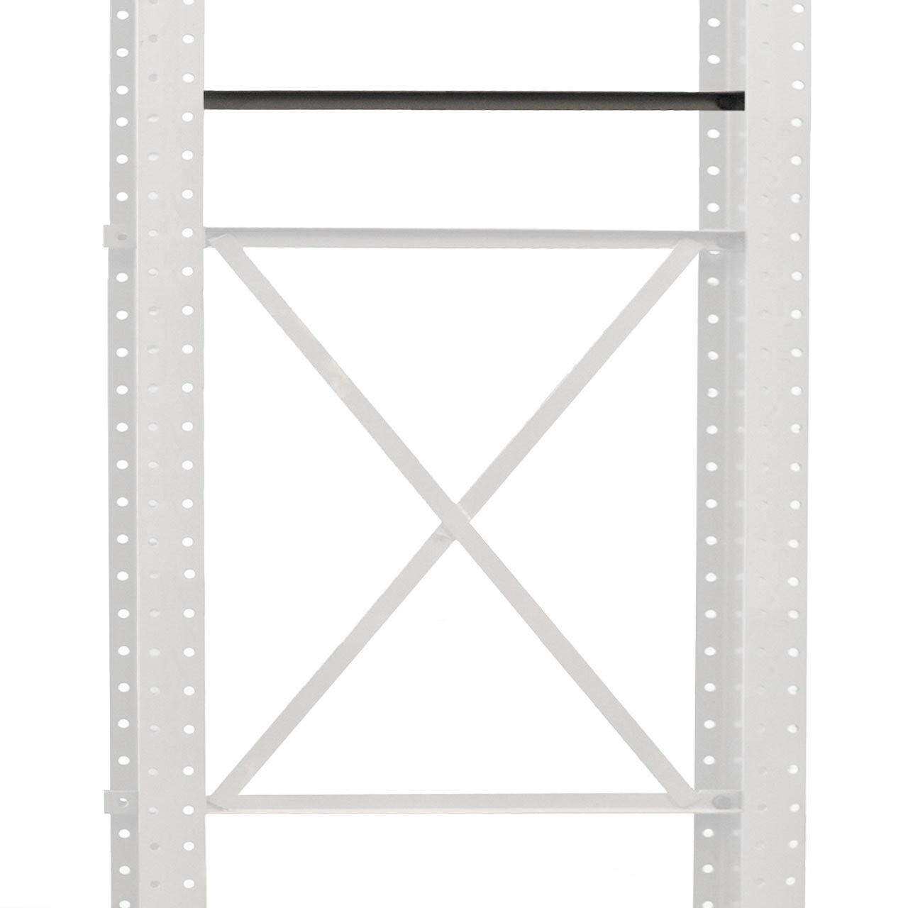 Horizontal brace for cantilever racking