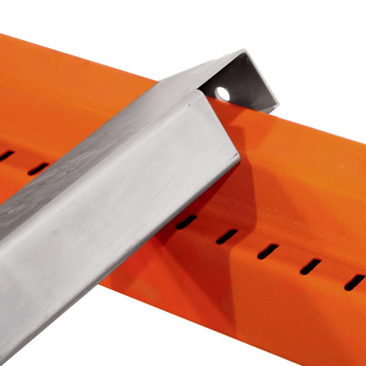 Standard galvanized pallet racking support