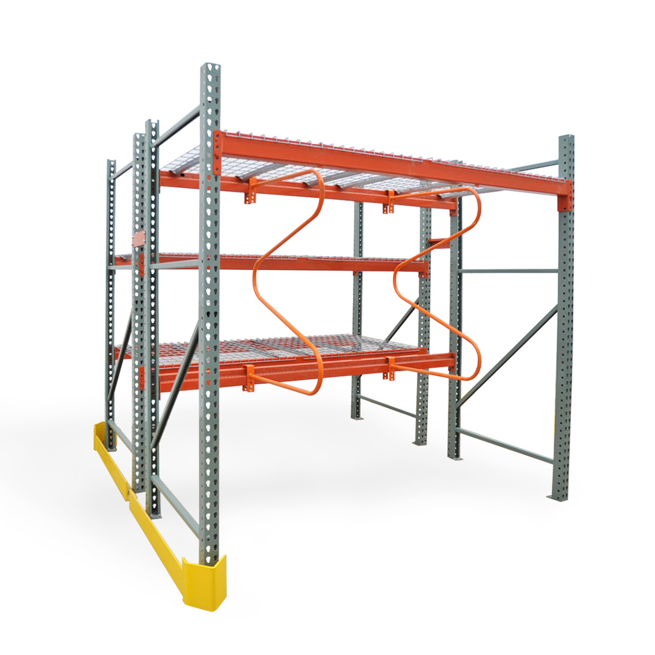Full rack with accessories