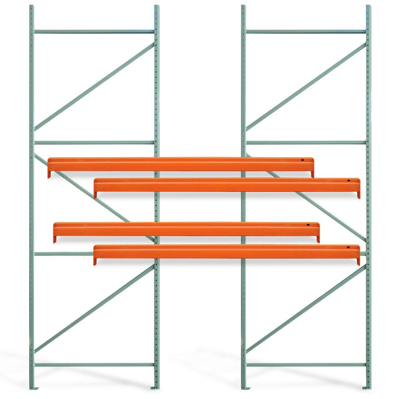 Basic pallet rack systems starter kit pieces