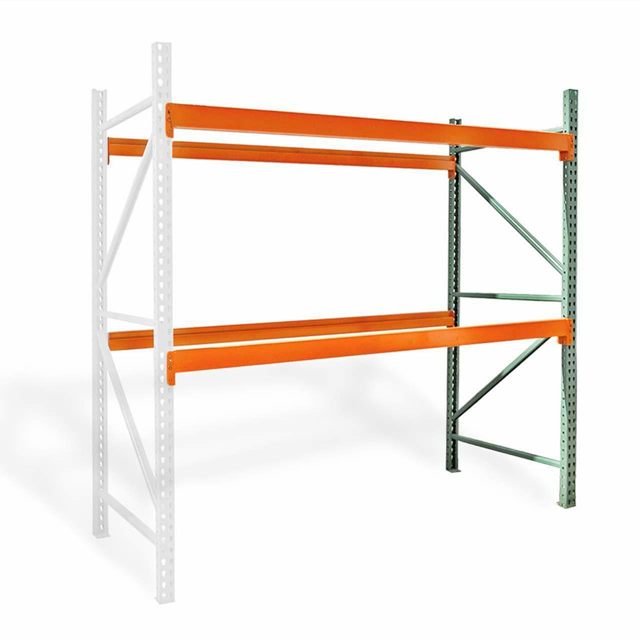 Pallet rack adder kit
