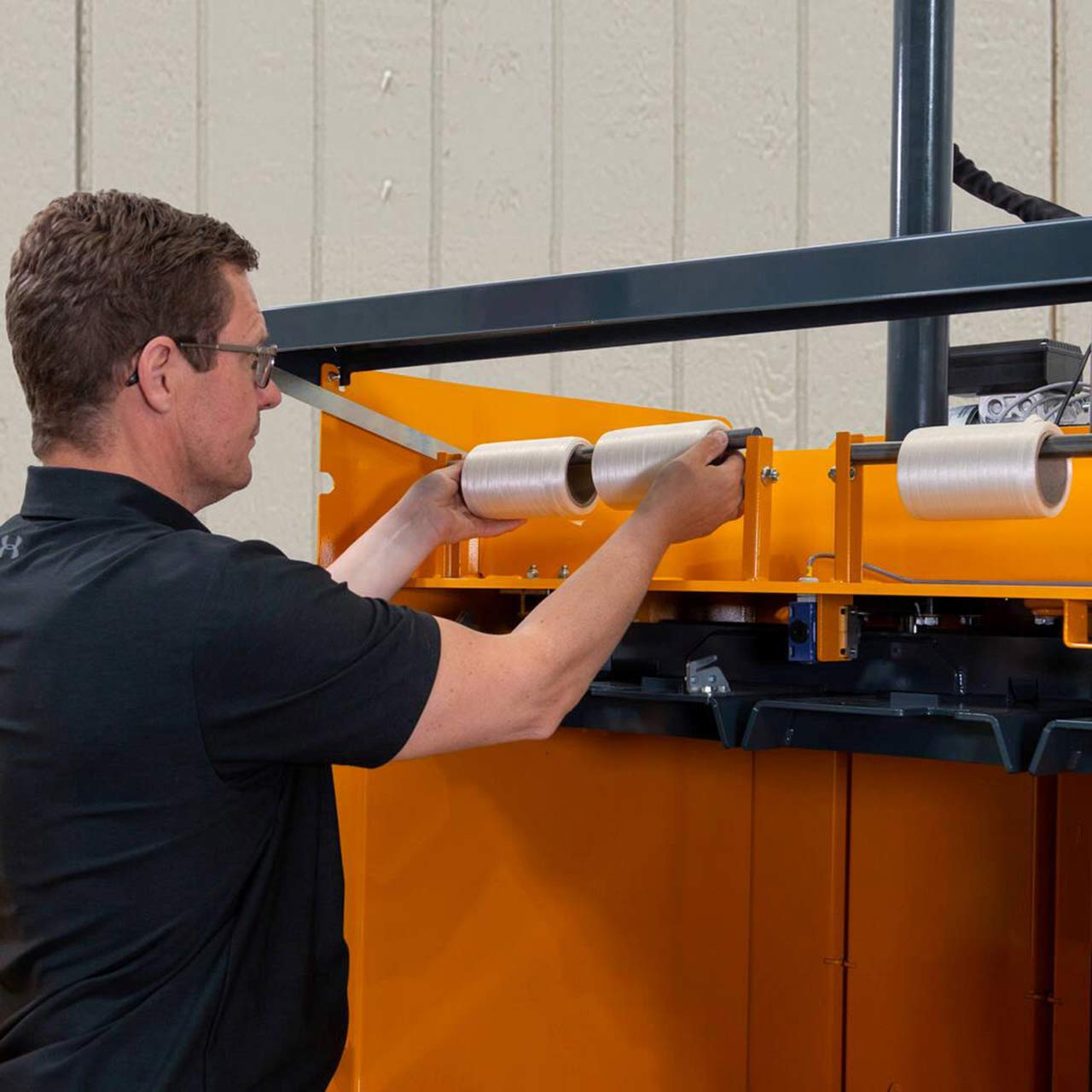 Simple Controls, Strapping Rolls are Easy to Replace, Efficient and Quiet Ejection System