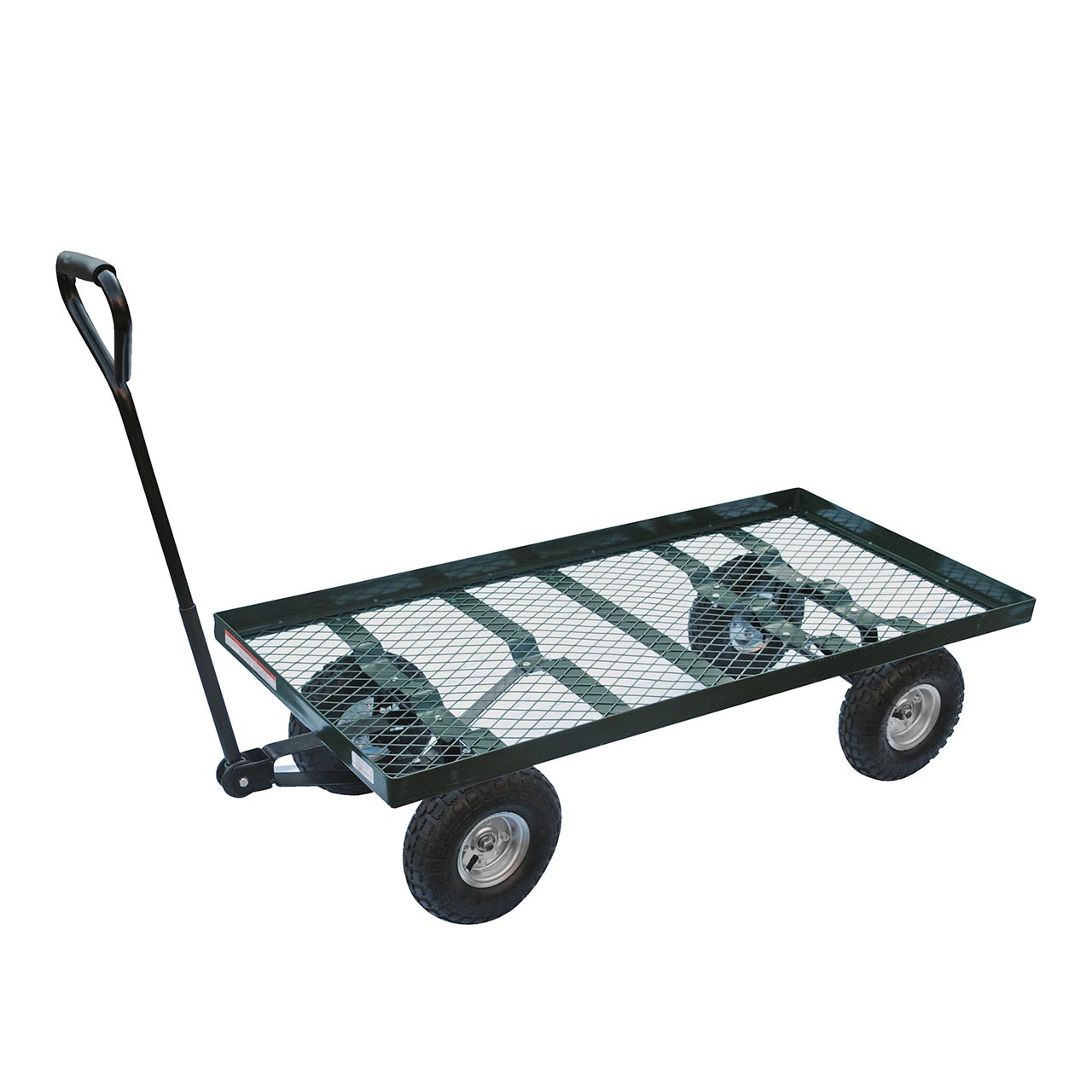Nursery platform carts make moving landscaping products effortless