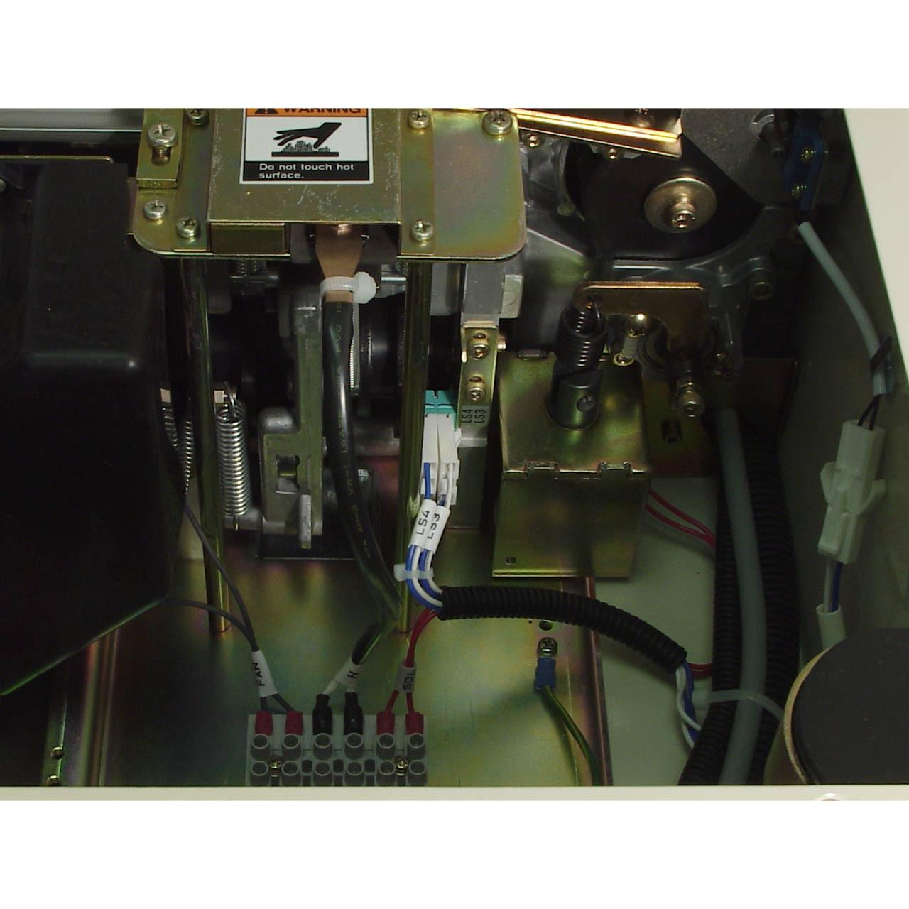 Semi-Auto Strapping Machine Inside View