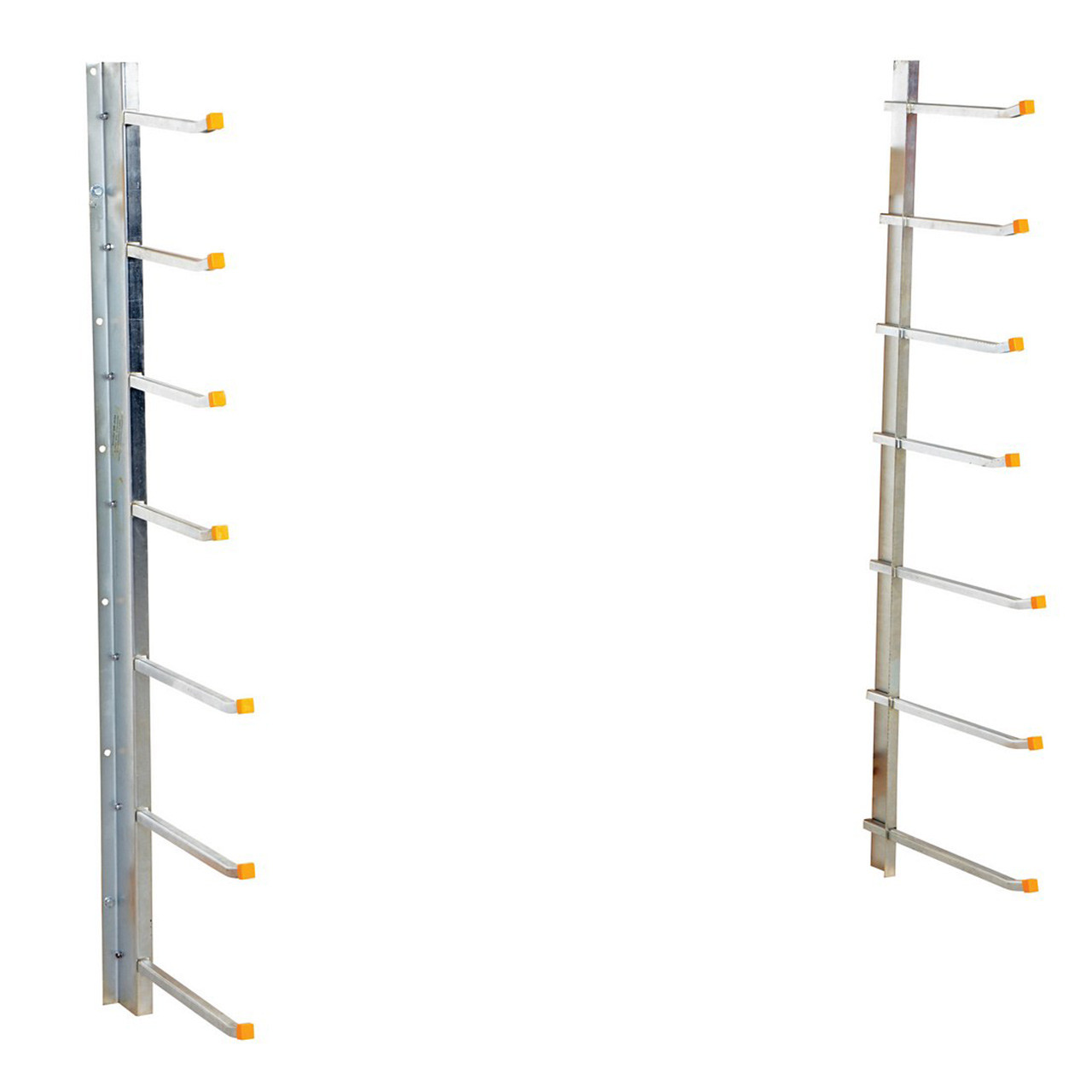 Wall-Mounted Material Rack