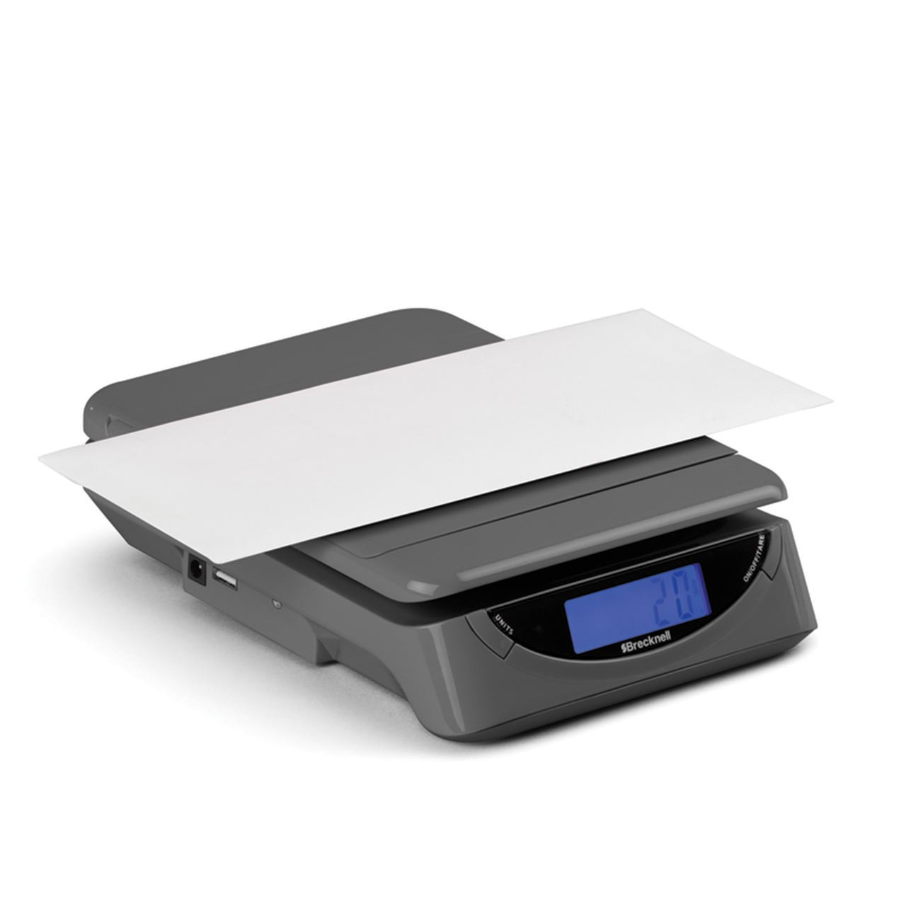 Weigh letters with 100% accuracy with this postal scale
