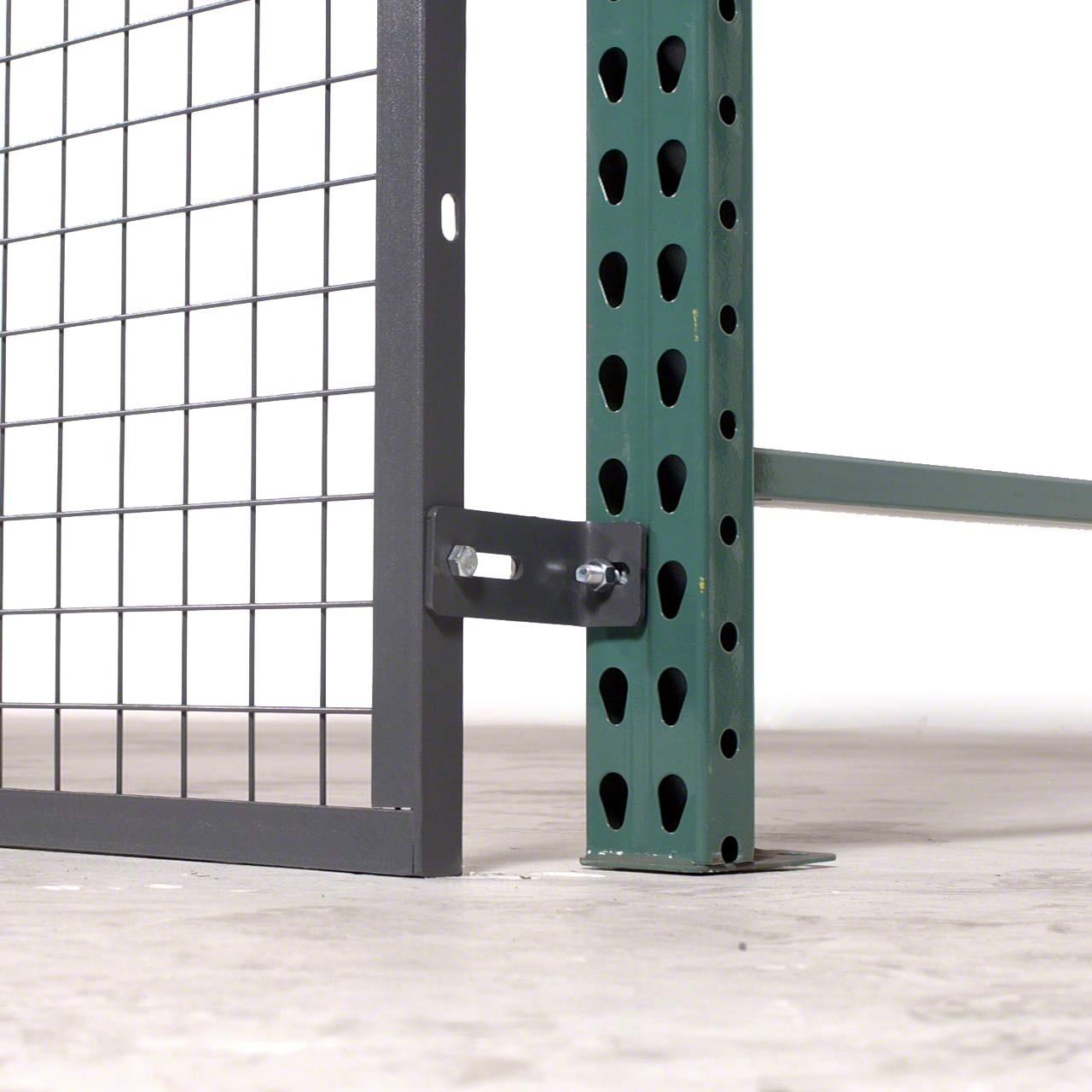 RackBack bolts onto your existing pallet rack to add a layer of protection