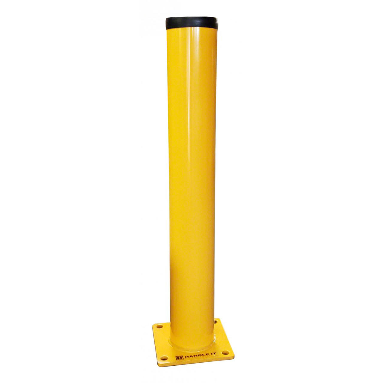 Steel bollards provide strong impact protection from vehicle traffic