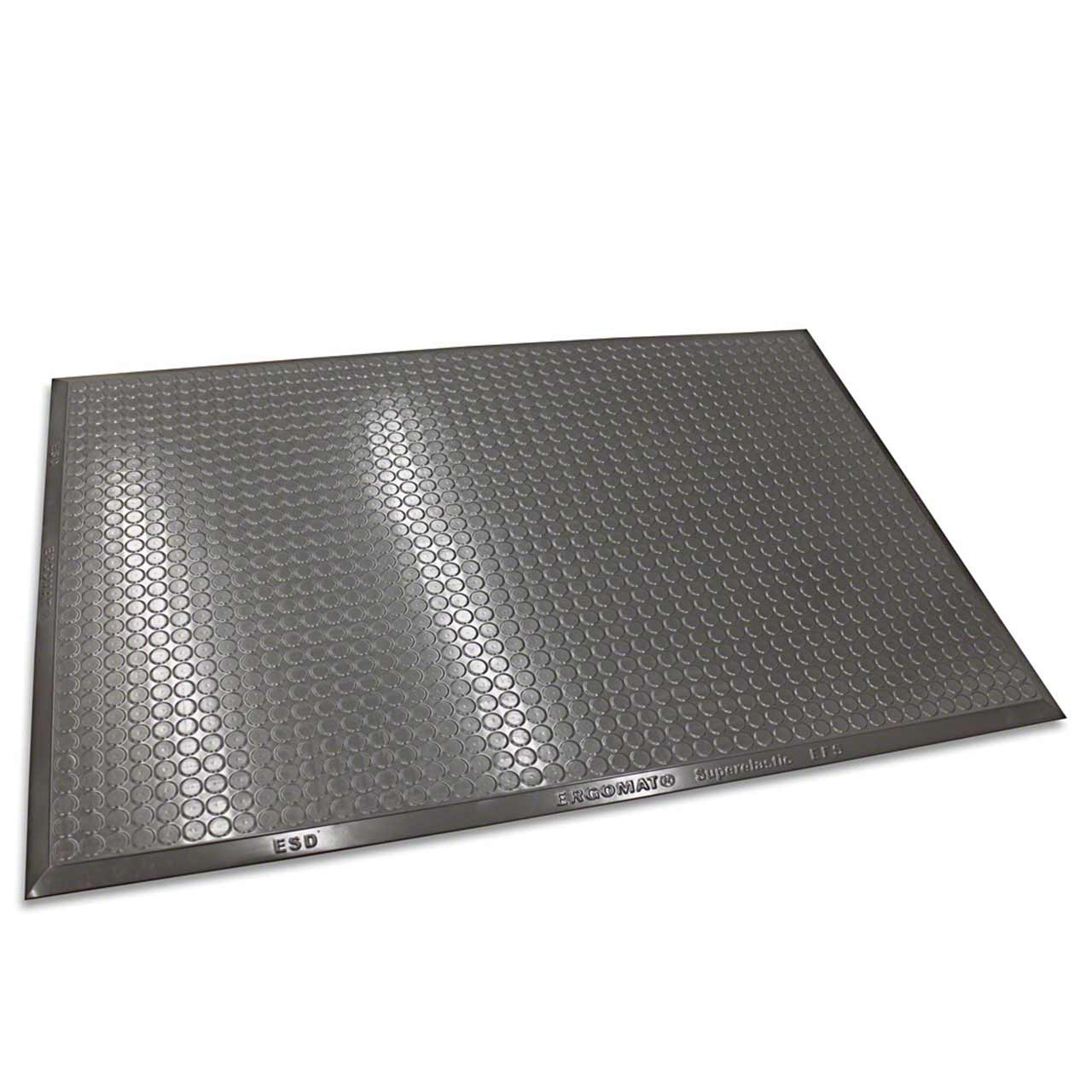 Ergomat Complete Smooth mats tolerate liquids while creating a smooth surface for carts and pallet jacks